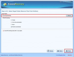 RAW drive recovery eassos