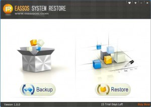 Eassos System Restore- Windows backup