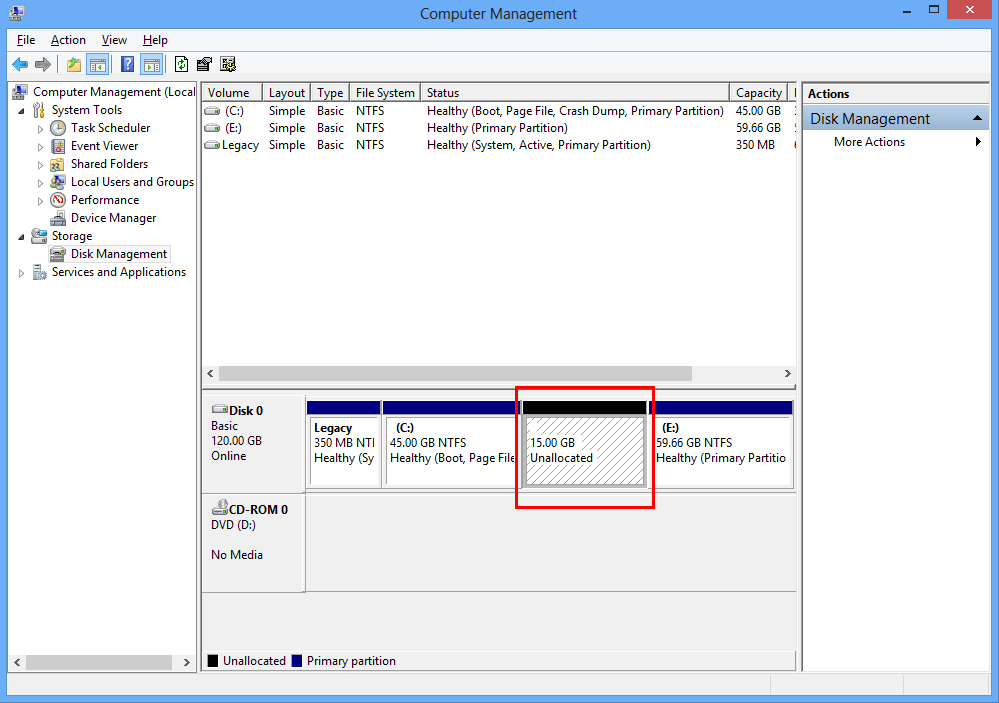 Recover Files From Unallocated Space