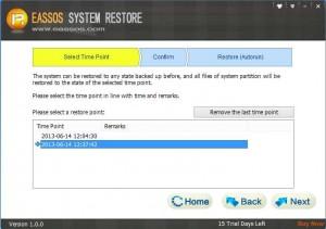 system restore 03