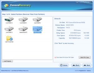MP4 file recovery software