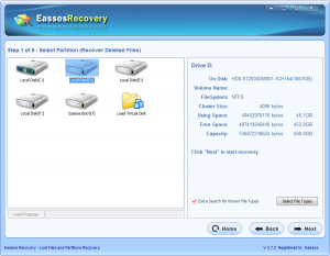 MS file recovery software