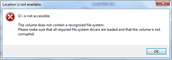 the-volume-does-not-contain-a-recognized-file-system