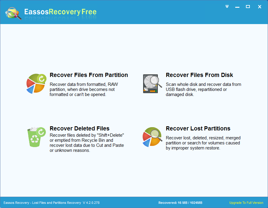 Deleted File Recovery Software to Recover Your Deleted Files Free