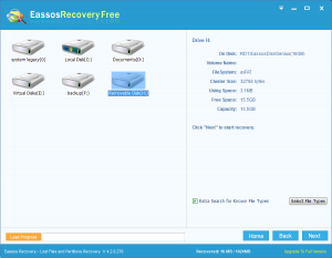 "restore lost files free after ""cut and paste'"