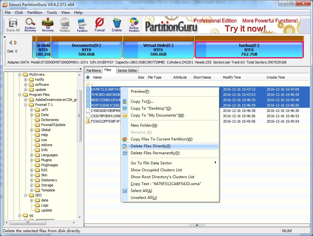 Cannot Delete File or Folder In Windows