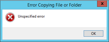 error-copying-file-or-folder-error