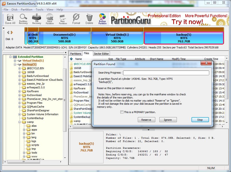 delete partition diskpart
