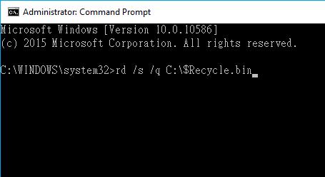 Fix Recycle Bin Is Corrupted Error In Windows 1087 Eassos Blog
