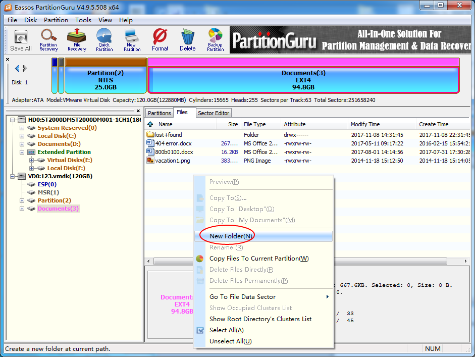 How to read & write Linux ext4/3/2 partition on Windows? | Eassos Blog