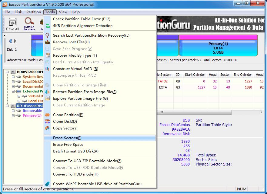 How to Clear an SD Card on Windows 10/8/7/XP? | Eassos Blog