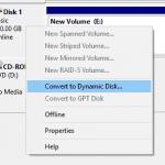 convert dynamic disk to basic disk