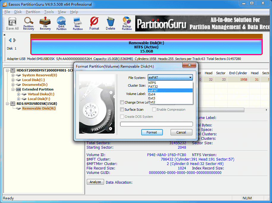 how to format external hard drive