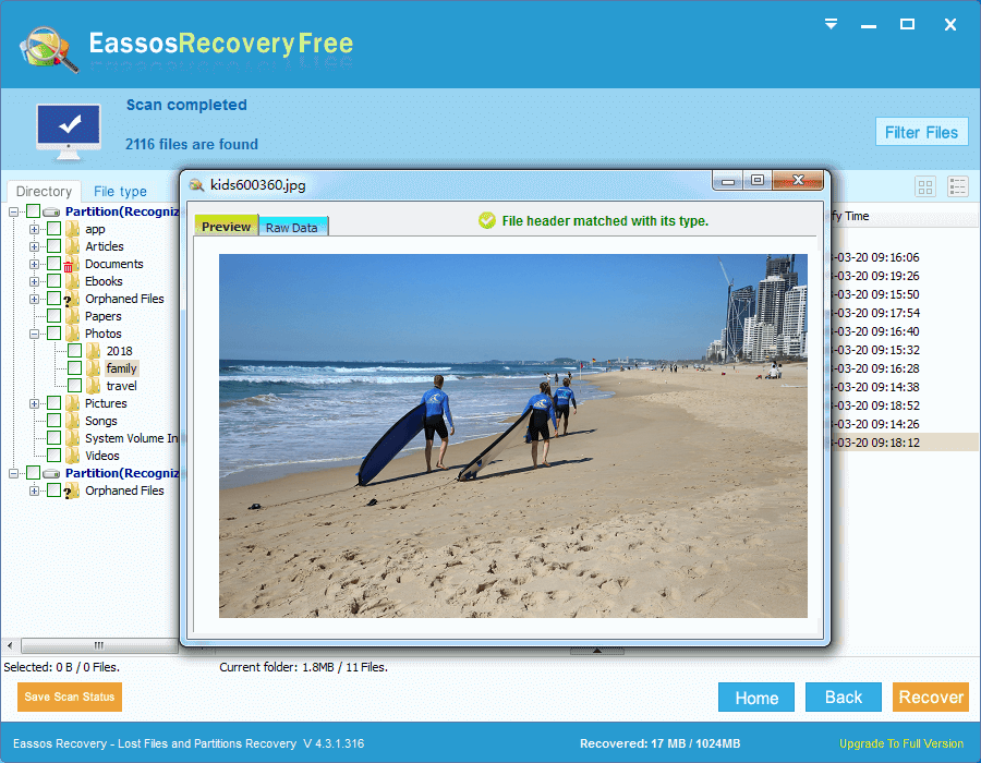 digital image recovery software free download full version