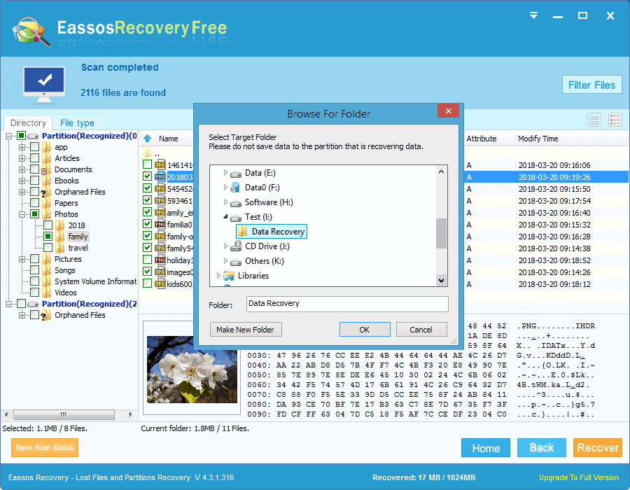 free hard drive data recovery software