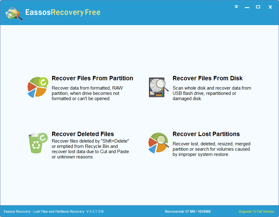 Partition Recovery From USB Drive