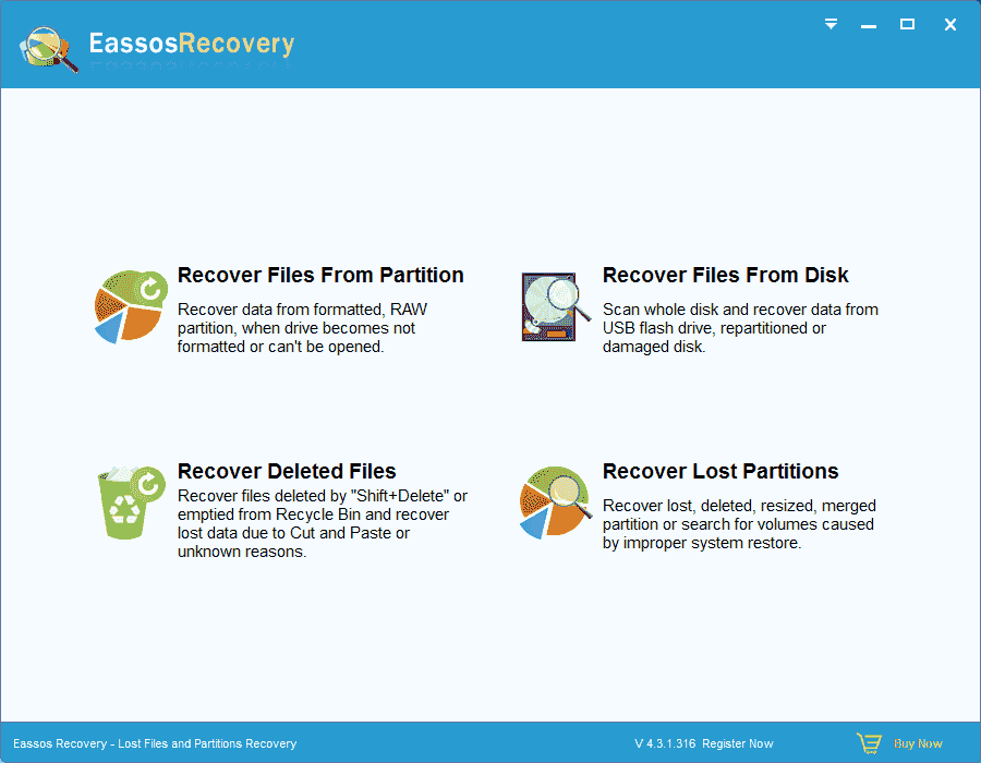 Recover Deleted and Formatted Files