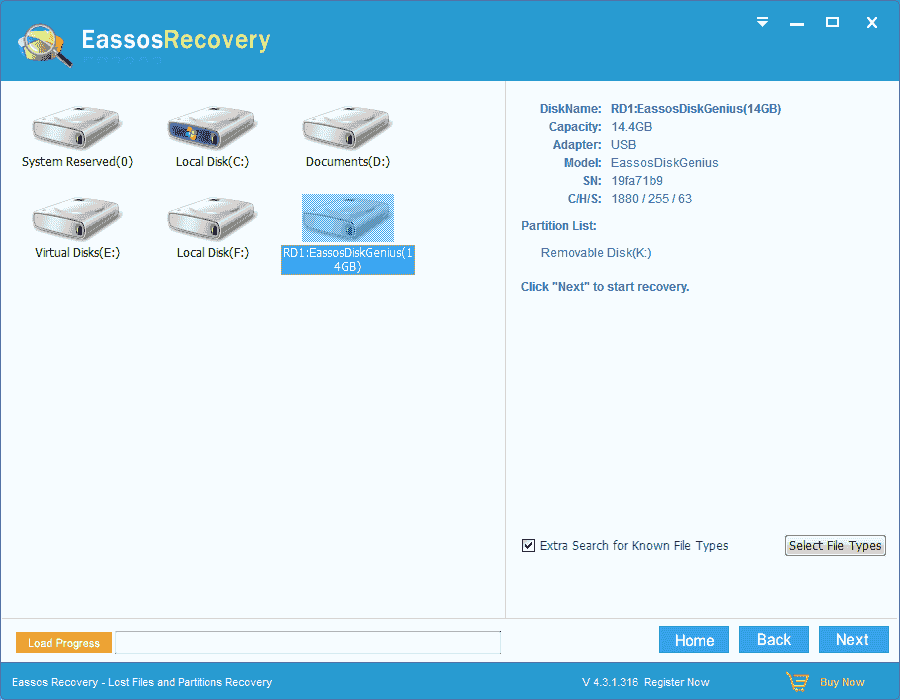 Free NTFS data recovery software