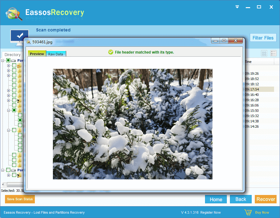 hard drive file recovery software