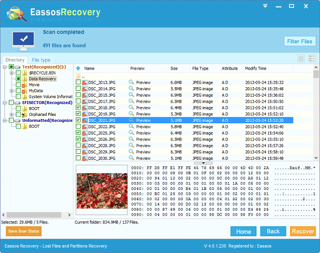 Recover deleted files with free recovery software
