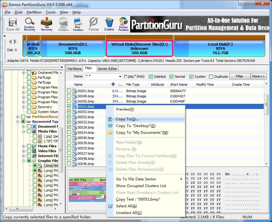 Hard disk regenerator software