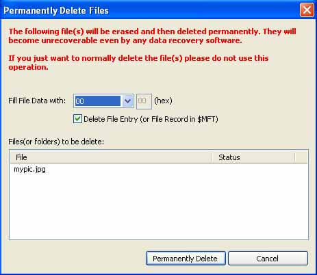 How to Delete Files and Folders Permanently – Eassos PartitionGuru