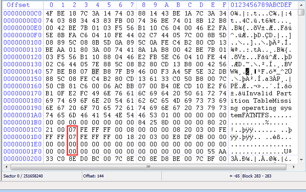 Full featured hex editor and disk editor for programmers