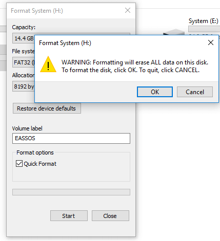How to Format a Flash Drive to FAT32/exFAT/EXT4 in Windows