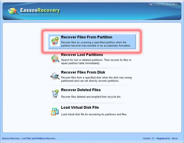 recover files from formatted hard drive or partition