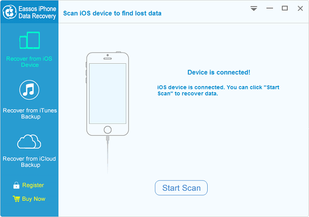Free download Eassos iPhone Data Recovery